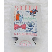 The South Can Holder in White by Lauren James - FINAL SALE