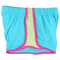 Making Waves Shorts in Neon Blue by Krass & Co.