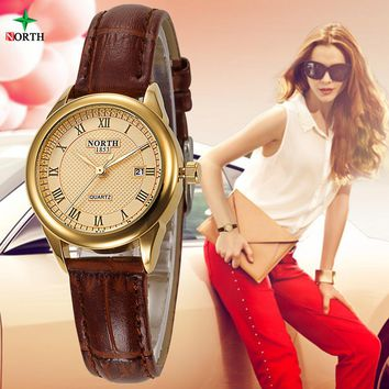 Relojes Mujer 2018 Casual Lady Gold Watch Women Bracelet Wristwatch Leather Couple watches Montres Femmes Fashion Women Watches