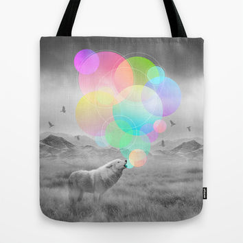 The Echoes of Silence Tote Bag by Soaring Anchor Designs | Society6