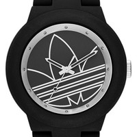 Women's adidas Originals 'Aberdeen' Sports Watch, 41mm - Black/ White