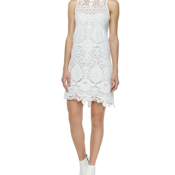Lira Crochet Cross-Back Dress,