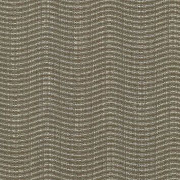 Kasmir Fabric Sound Wave Walnut