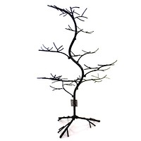 Halloween Black Glitter Twig Tree Halloween Decor