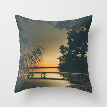 My own summer Throw Pillow by HappyMelvin