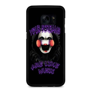 Five Nights At Freddy S The Marionette Samsung Galaxy S7 Edge Case