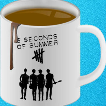 5 second of summer mug heppy coffee.