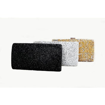 2016 diamond-studded ladies crystal evening bags women clutches handbags female wedding long wallet purses sliver gold black 60t