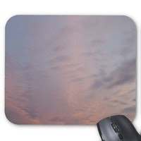 Pink Clouds at Sunset Mouse Pad
