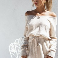 Villa Off Shoulder Playsuit - Playsuits by Sabo Skirt