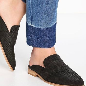Free People Textile At Ease Loafer Black