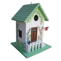 Home Bazaar Butterfly Cottage Birdhouse