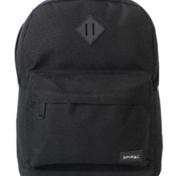 Spiral UK Classic Black Mini OG Backpack | Attitude Clothing