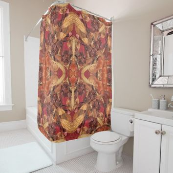 Cinnamon Potpourri Shower Curtain