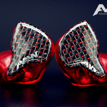 Advanced AcousticWerkes A2H-V Dual Driver Hybrid Custom In-Ear Monitor