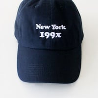 New York 199x Cap - Navy