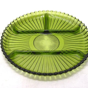 Green, Relish, Olive, Veggie, Pickle, Serving, Dish, Depression, Glass, Tray, Platter, Plate, Hors d'oeuvre, Party, Snack, Bowl, Home, Gift