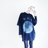 MTM MOON T-SHIRT BLACK