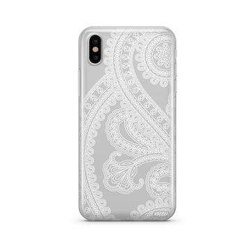 Henna Full Paisley - Clear TPU Case Cover Phone Case