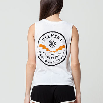 ELEMENT Bolts Womens Muscle Tee | Graphic Tees