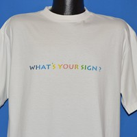90s Hootie And The Blowfish Whats Your Sign t-shirt Extra Large