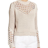 3.1 Phillip Lim - Open Knit Sweater - Saks Fifth Avenue Mobile