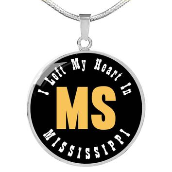 Heart In Mississippi - Luxury Necklace