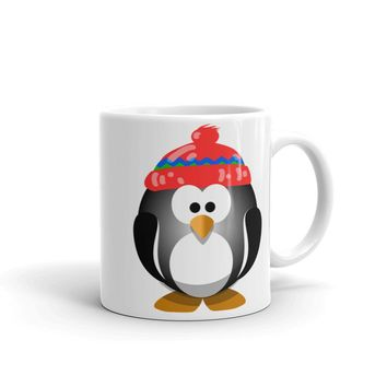 Winter Penguin Mug