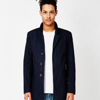 Only & Sons Lorenz Trench Coat Blue