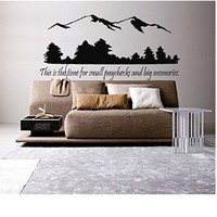 Small Paycheck, Big Memories Wall Decal