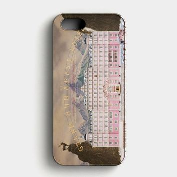 The Grand Budapest Hotel iPhone SE Case