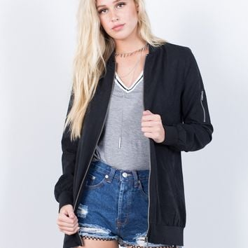 Simply Classic Bomber Jacket