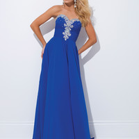 Strapless Sweetheart Tony Bowls Le Gala Formal Prom Dress 114536