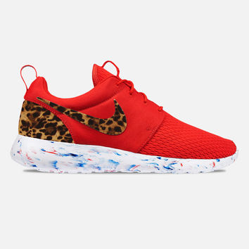 2K Leopard/Cheetah Cat Print Custom Roshe Runs