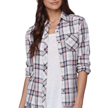 LA Hearts Boyfriend Button Up Shirt at PacSun.com