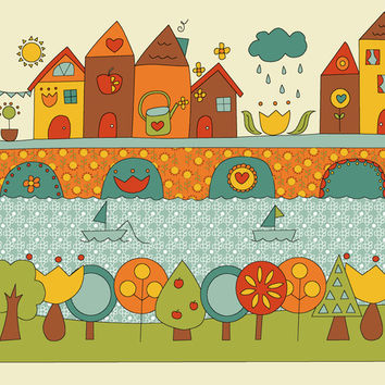 This is my Home Art Print by Kathrin Legg
