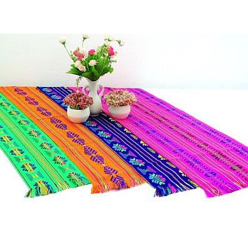 "Mexican Party Pack - 12 Table Runners 14x60"" + Free Shipping"