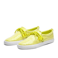 SUPRA WMNS BELAY Shoe | NEON YELLOW - WHITE | Official SUPRA Footwear Site