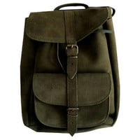 Leather backpack, genuine cowhide, beige, suede laptop bag, Zaino,travel bag, unisex backpack