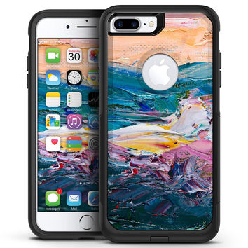 Abstract Oil Strokes - iPhone 7 or 7 Plus Commuter Case Skin Kit