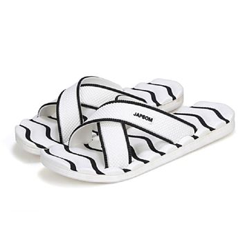 Summer Man Slippers EVA Wear-resisting Skidproof flip flops men shoes Outside Sandy Shower Room Home Alippers Soft beach sandals
