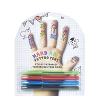Hand Art Tattoo Pens - Multi