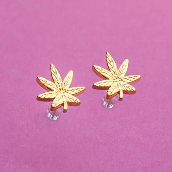 Mary Jane Stud Earrings