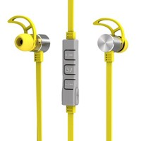 Airmate ® Bluetooth Headphone, Wireless Bluetooth in Ear Earphone Headset Noise Cancelling Headphones Earbuds with Microphone & Stereo Sports Headphone for Iphone Ipad and Any Other Bluetooth Enabled Device(yellow)