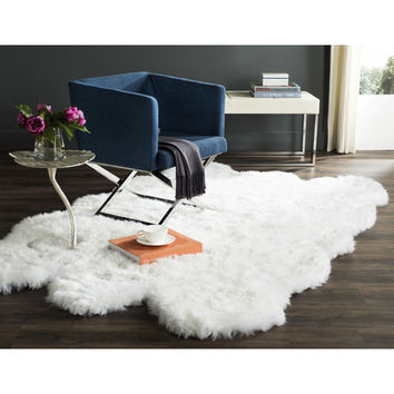 Langley Street Allison White Area Rug