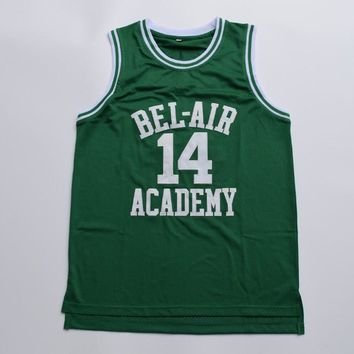 Will Smith Bel Air Academy Basketball Jersey Stitched Green