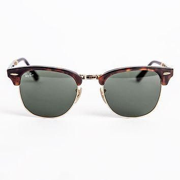 Ray-Ban Iconic Folding Clubmaster Sunglasses RB2176 990