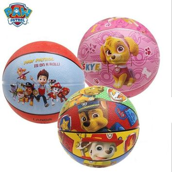 Paw patrol dog Puppy Patrol rubber ball toy patrulla canina Toys Anime Figurine Children Gifts toys Genuine