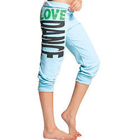 "Adult and Child ""Love Dance"" Crop Sweat Pants - Style Number: UC3352"