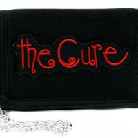 The Cure Tri-fold Wallet w/ Chain Gothic Clothing